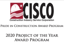 CISCO project of the year award