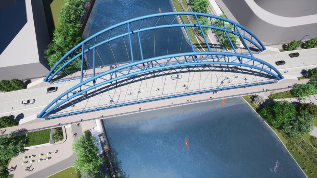 second bridge rendering