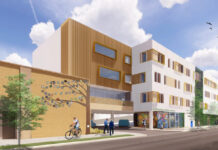 evanston senior housing rendering