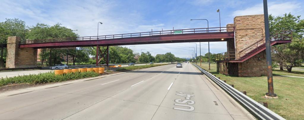 The existing bridge