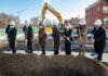 schiller place groundbreaking