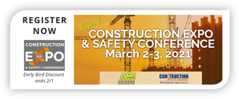 construction expo graphic