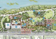 site plan obama center