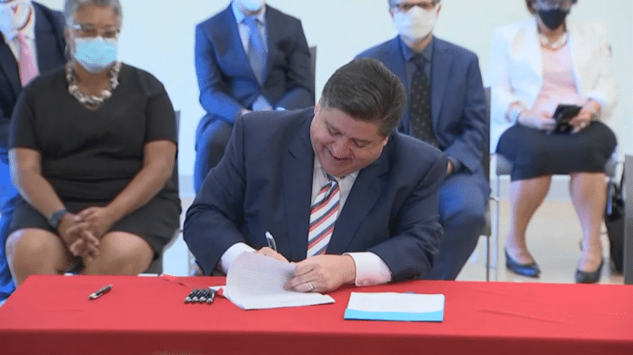pritzker signing law