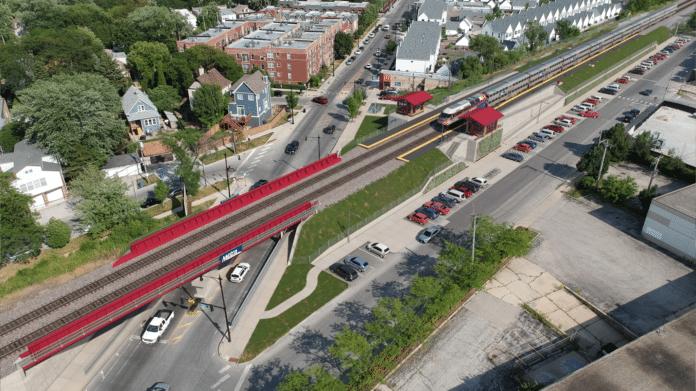 metra irving park